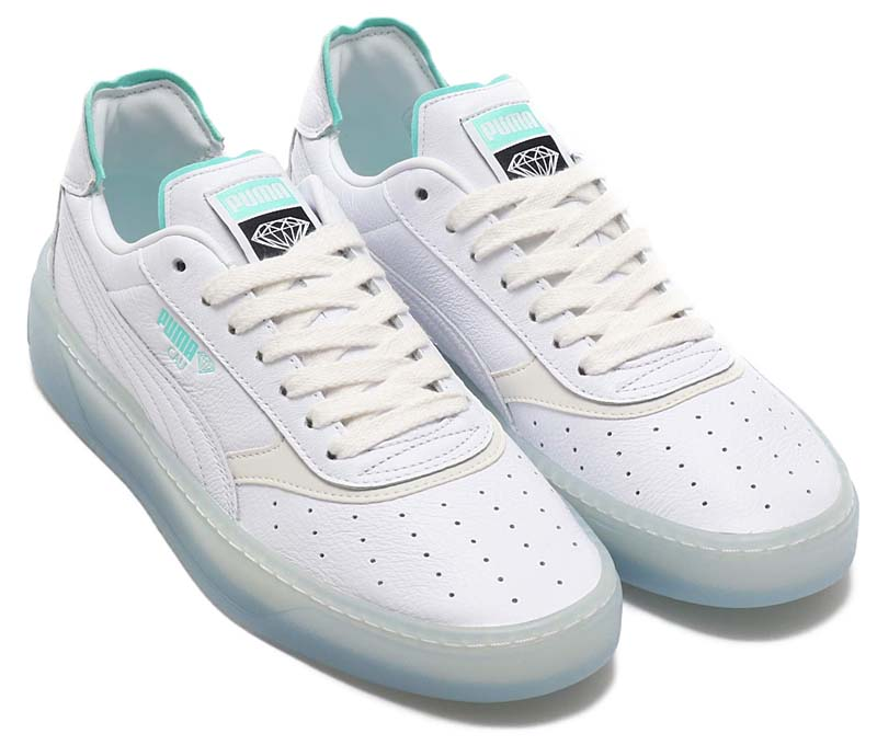 PUMA x DIAMOND SUPPLY CALI-0 PUMA WHITE 369399-01