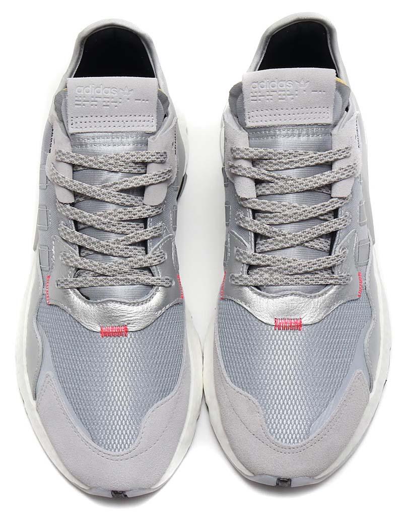 adidas Originals NITE JOGGER SILVER MET / LGH SOLID GREY / CORE BLACK EE5851 アディダス オリジナルス ナイトジョガー 「メタリックシルバー」