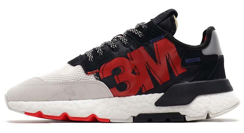 adidas Originals NITE JOGGER CORE BLACK / CORE BLACK / CRYSTAL WHITE EF9419 アディダス オリジナルス ナイトジョガー ブラック/ホワイト/レッド