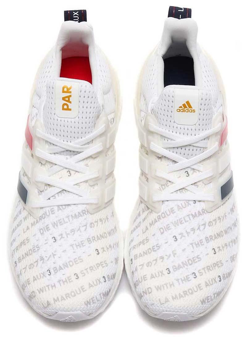 adidas UltraBOOST CTY Paris RUNNING WHITE / RUNNING WHITE / COLLEAGE NAVY FV2586 アディダス ウルトラブースト パリ 「ホワイト/ブルー/レッド」