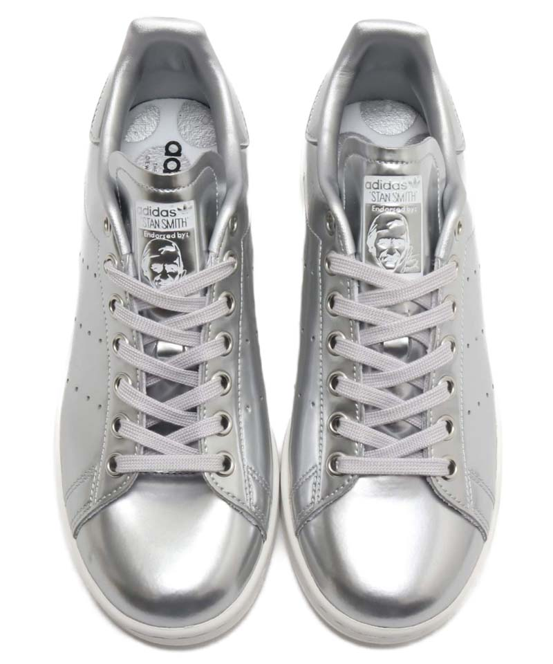 adidas STAN SMITH SILVER MET / SILVER MET / CRYSTAL WHITE FV4300 アディダス スタンスミス メタリックシルバー/ホワイト