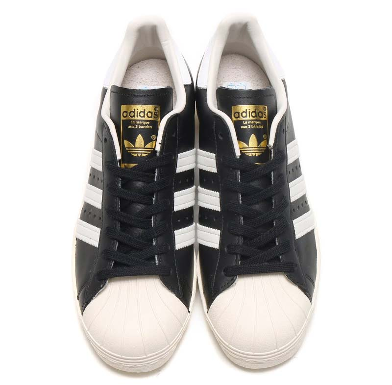 adidas Originals SUPERSTAR 80s BLACK / WHITE G61069 アディダス オリジナルス スーパースター 80s 「ブラック/ホワイト/ゴールド」