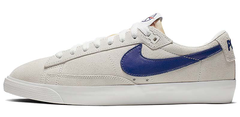 POLAR SKATE CO. x NIKE SB ZOOM BLAZER LOW GT QS SUMMIT WHITE / DEEP ROYAL BLUE-SUMMIT WHITE AV3028-100 ポーラ スケート CO. × ナイキ SB ズーム ブレザー ロー GT 「ホワイト/ブルー」
