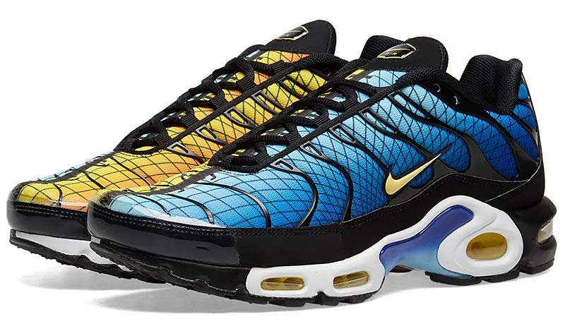 "NIKE AIR MAX PLUS TN SE ""GREEDY"" [GREEDY BLACK / CHILE RED / YELLOW / ORANGE] AV7021-001"