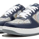 NIKE AIR FORCE 1 Mr. Cartoon Hyperstrike [MIDNIGHT NAVY / SILVER-WHITE] (311368-401)