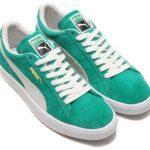 PUMA SUEDE 90681 [KELLY GREEN / PUMA WHITE] (365942-01)