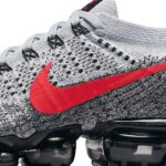 NIKE AIR VAPORMAX FLYKNIT OG [PURE PLATINUM/UNIVERSITY RED-BLACK] (849558-020)