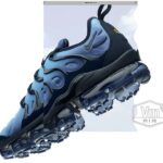 NIKE AIR VAPORMAX PLUS [OBSIDIAN / OBSIDIAN-PHOTO BLUE-BLACK] (924453-401)