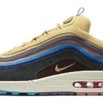 "NIKE AIR MAX 1/97 VF SW "" SEAN WOTHERSPOON "" [LIGHT BLUE FURY / LEMON WASH – VINTAGE GREEN] (AJ4219-400)"