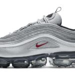 NIKE AIR VAPORMAX 97 SILVER BULLET [METALLIC SILVER / VARSITY RED-WHITE-BLACK] (AJ7291-002)