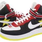 "NIKELAB RT AIR FORCE 1 "" RICCARDO TISCI "" [GYM RED/YELLOW/BLACK/WHITE] (aq3366-600)"