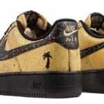 NIKE AIR FORCE 1 LOW 07 CARIBANA [METALLIC GOLD / BLACK-BLK] (AV3219-700)