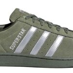 adidas SUPERSTAR [BASE GREEN / SILVER/NIGHT CARGO] (b41988)