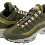NIKE AIR MAX 95 ESSENTIAL [OLIVE CANVAS / LIGHT BONE / GOLDEN MOSS] (749766-303)