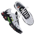 NIKE AIR MAX PLUS SE [WHITE / VOLT-BLACK-BRT CRIMSON] (AJ2013-100)