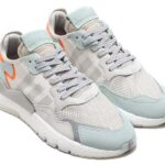 adidas Originals NITE JOGGER [RAW WHITE / GREY ONE F17 / VAPOUR GREEN] (BD7956)