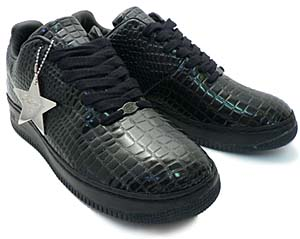 nike air force 1 supreme [black crocodile] (312685-003) ナイキ エアフォース1 シュプリーム 「ブラック クロコダイル」