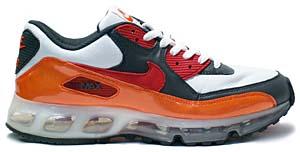 nike air max 90 360 [white/orange/red] (315858-861) ナイキ エアマックス90 360 「ホワイト/オレンジ」