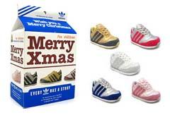 adidas galaxy infant xmas アディダス ギャラクシー 幼児用 クリスマスパック