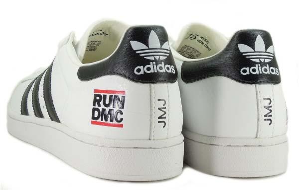 "adidas SUPERSTAR 35th "" RUN-DMC"" WHITE / BLACK 114199 アディダス スーパースター 35周年 RUN DMC ホワイト/ブラック"