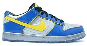 nike dunk low supreme '08 [blue/silver/yellow] (318643-071) ナイキ ダンク ロー サプリーム '08 「青/銀/黄色」