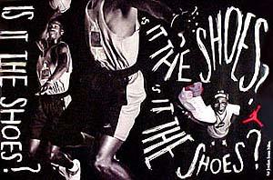 スパイク・リーによる「ナイキ エアジョーダン5」のポスター
