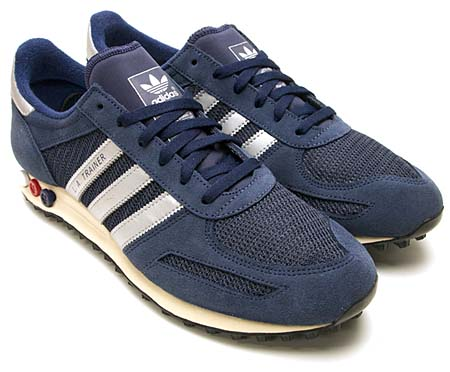 adidas L.A. TRAINER [NAVY/SILVER] 075975