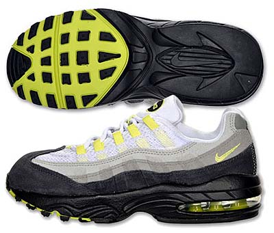 NIKE AIR MAX 95 PS [COOL GRY/NEON YELLOW] 写真1