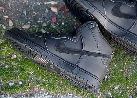 NIKE DUNK HIGH PREMIUM SB [GORTEX|BLACK] 313171-010 写真1