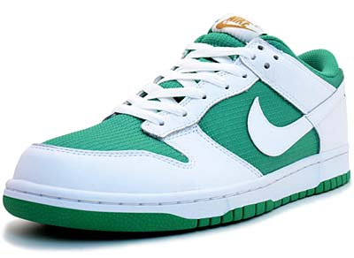 NIKE DUNK LOW [LUCKY GREEN/WHITE-MTLLC GOLD]