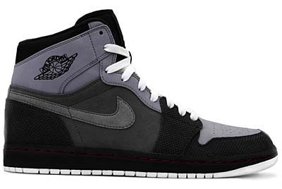 NIKE AIR JORDAN1 RETRO HI [STEALTH/TEAM RED-LIGHT GRAPHITE-CHARCOAL]
