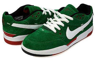NIKE ZOOM PAUL RODRIGUEZ 3 [St. Patrick's Day 2010]