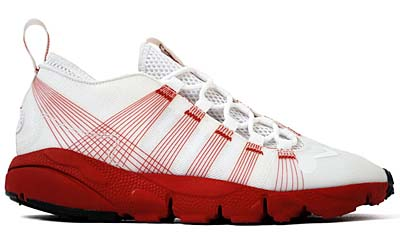 NIKE AIR FOOTSCAPE MOTION [WHITE/RED] 写真1