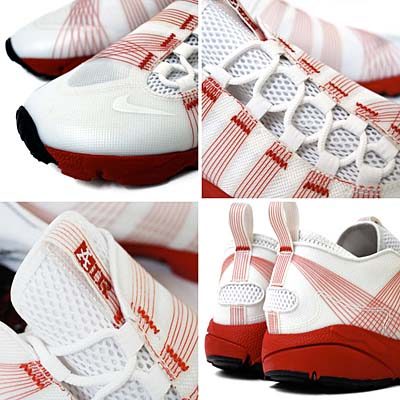 NIKE AIR FOOTSCAPE MOTION [WHITE/RED] 写真2