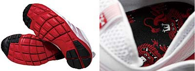 NIKE AIR FOOTSCAPE MOTION [WHITE/RED] 写真3