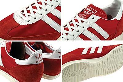 adidas SL72 [C.RED/WHITE]