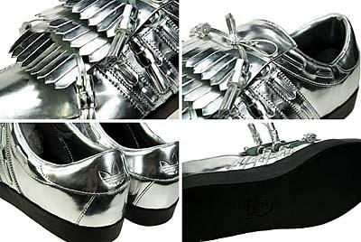 adidas originals 3TONGUE LOW [Jeremy Scott SILVER]