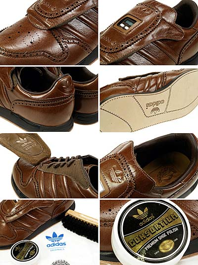 adidas MICROPACER BROGUE [BROWN LEATHER|CONSORTIUM]