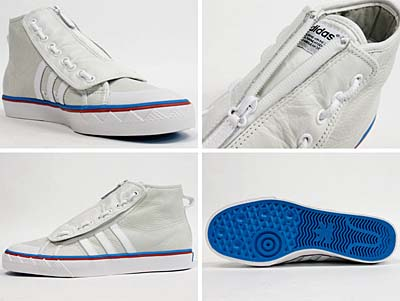 adidas NIZZA HI OT TECH [WHITE/RED/BLUE]