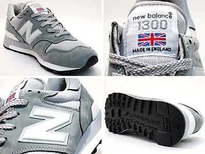 new balance M1300UK BGB [GRAY|MADE IN INGLAND] 写真1