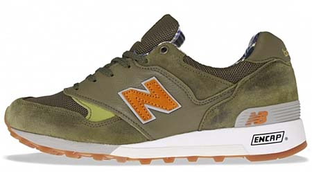 new balance M577 CW [size?|D-GREEN/ORANGE]