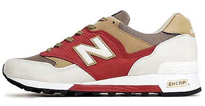 new balance M577 WRB [WHITE/RED/BEIGE]