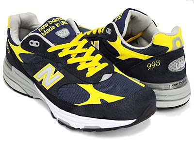 new balance MR993 NY [NAVY/YELLOW] 写真1