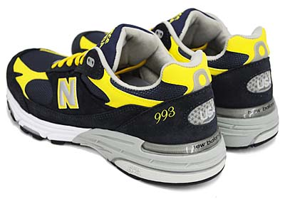 new balance MR993 NY [NAVY/YELLOW] 写真2