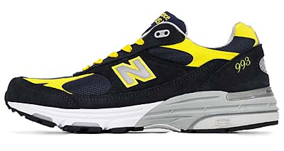 new balance MR993 NY [NAVY/YELLOW]