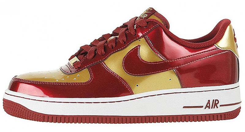 NIKE GS AIR FORCE 1 LOW [Iron Man] 314192-601