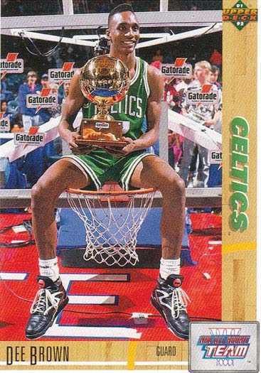reebok J14472 1991年 NBA ALL STAR SLAM DUNK CONTESTのチャンピオン、BOSTON CELTICSのDEE BROWN。彼の履いたPUMP OMNI LITEがモチーフ