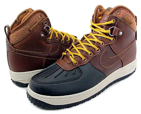NIKE NIKE AIR FORCE 1 HI [DUCK BOOT|BROWN]
