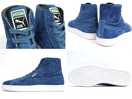 Puma SUEDE MID MITA [mita sneakers Exclusive|INDIGO] 352877 画像4