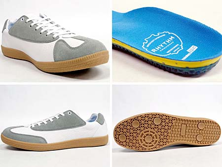 RHYTHM FOOTWEAR PRETZEL-LO MS [mita sneakers Exclusive|WHITE/GUM] 1137012 写真1